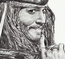 Captain Jack Sparrow by L K Southward