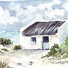 Latest watercolour - Fisherman's cottage by Maree  Clarkson