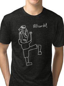 Billiards! (white) Tri-blend T-Shirt