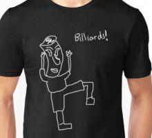 Billiards! (white) Unisex T-Shirt