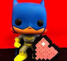 Bat Girl Valentines by FendekNaughton