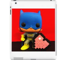 Bat Girl Valentines iPad Case/Skin