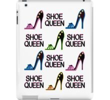 CHIC AND COLORFUL SHOE QUEEN DESIGN iPad Case/Skin