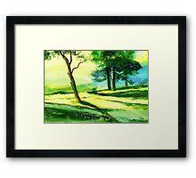 Long Horizon Framed Print