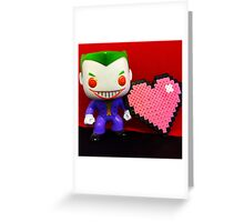 Joker Valentines Greeting Card
