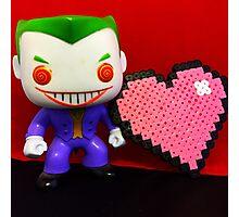 Joker Valentines Photographic Print