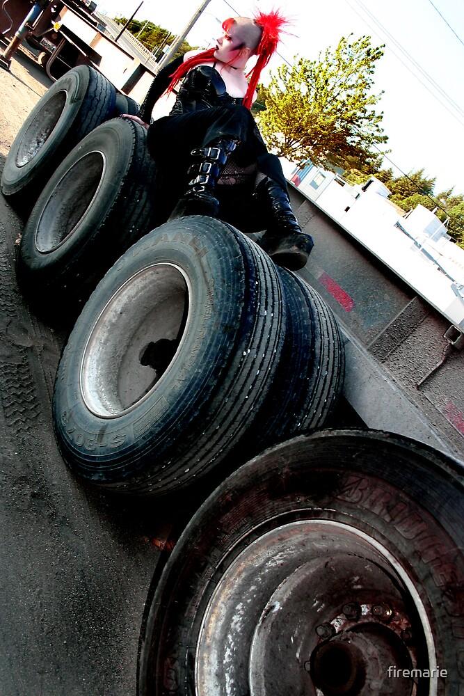 Tires by Marie Arneklev