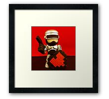 Robocop Valentines Framed Print