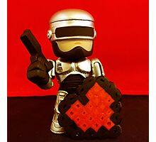 Robocop Valentines Photographic Print