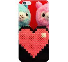 Alpaca Valetines iPhone Case/Skin