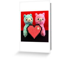 Alpaca Valetines Greeting Card