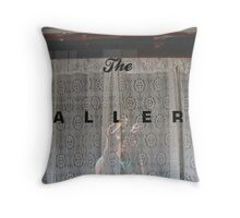 Cass's Gallery Throw Pillow