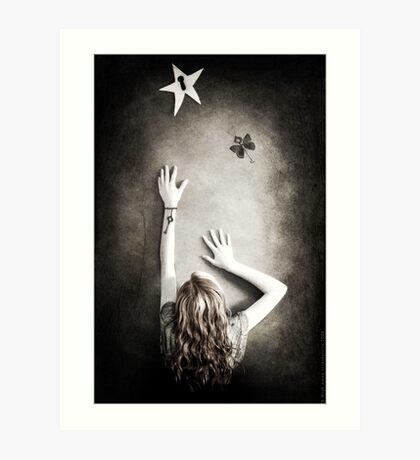 A Wish Away Art Print