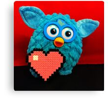 Furby Loves U-nye Canvas Print