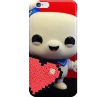 Marshmallow Man Valentines  iPhone Case/Skin