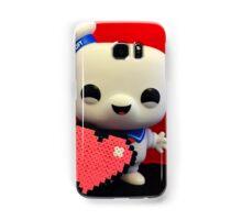Marshmallow Man Valentines  Samsung Galaxy Case/Skin