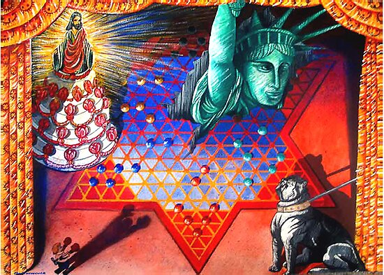 Fascist Dog, Political Bully and the Marriage of Politics and Religion. by Larry Butterworth