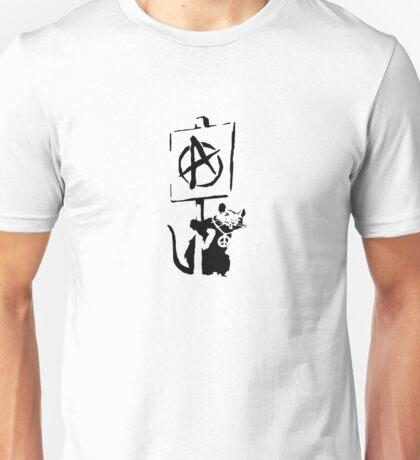 Banksy Design Rat Print  Unisex T-Shirt
