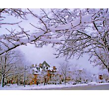 Winter in New England  Photographic Print