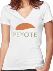 Peyote Women's Fitted V-Neck T-Shirt