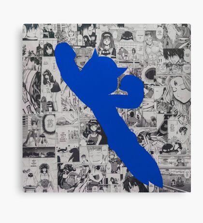 Astro Collage - Blue Canvas Print
