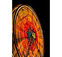 Dizzy Lights Photographic Print