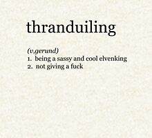 Thranduiling  Zipped Hoodie