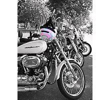 Harley Momma Photographic Print