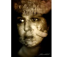 The story is written in the face Photographic Print