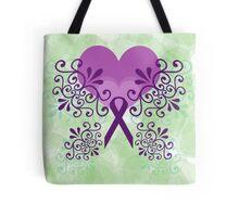 Purple Butterflies 3 Tote Bag