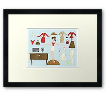 Paper Doll No.2-Me Framed Print