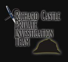 Richard Castle Private Investigation Team Kids Tee