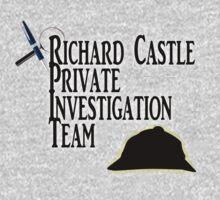 Richard Castle Private Investigation Team Kids Clothes