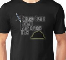 Richard Castle Private Investigation Team Unisex T-Shirt