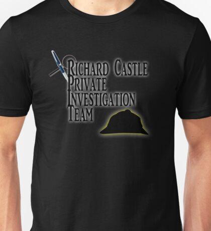 Richard Castle Private Investigation Team Unisex T-Shirt