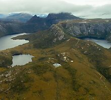 Tassie from the Air - Cradle Mountain by Steve Edwards