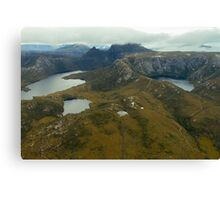 Tassie from the Air - Cradle Mountain Canvas Print