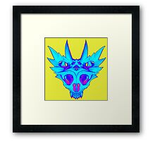 HorndSkull - ChilldMap Framed Print