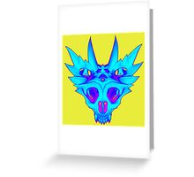 HorndSkull - ChilldMap Greeting Card