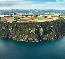 Tassie from the Air - Table Cape by Steve Edwards