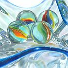 Bowl of Marbles by Carla Kurt