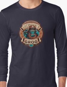 Ghost Pirate Grog Long Sleeve T-Shirt