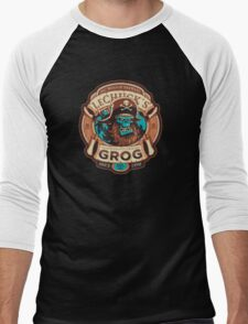 Ghost Pirate Grog Men's Baseball ¾ T-Shirt
