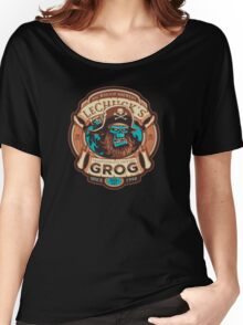 Ghost Pirate Grog Women's Relaxed Fit T-Shirt