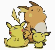 Pika's Family Kids Clothes