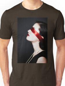 blindfolded Unisex T-Shirt