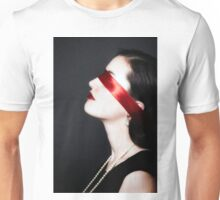 blindfolded Unisex T-Shirt