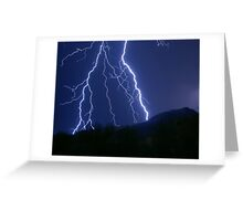 Nature's Raw Power Greeting Card