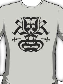 Typo Samurai - Black T-Shirt