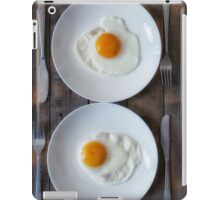fried eggs iPad Case/Skin